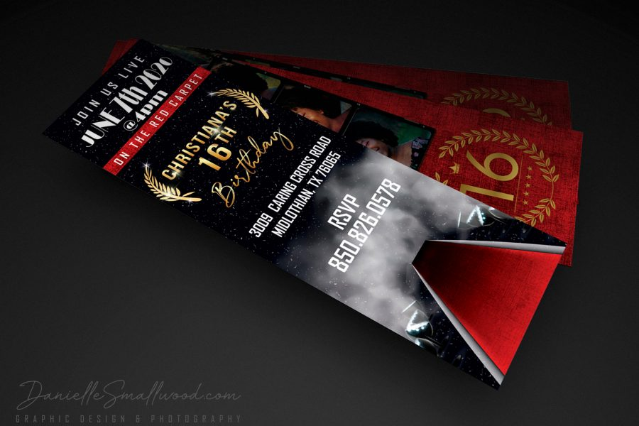 <span>Graphic Design, Headshot, Marketing Design, Outdoor Photography, Photography</span>Ticket Invitation Design