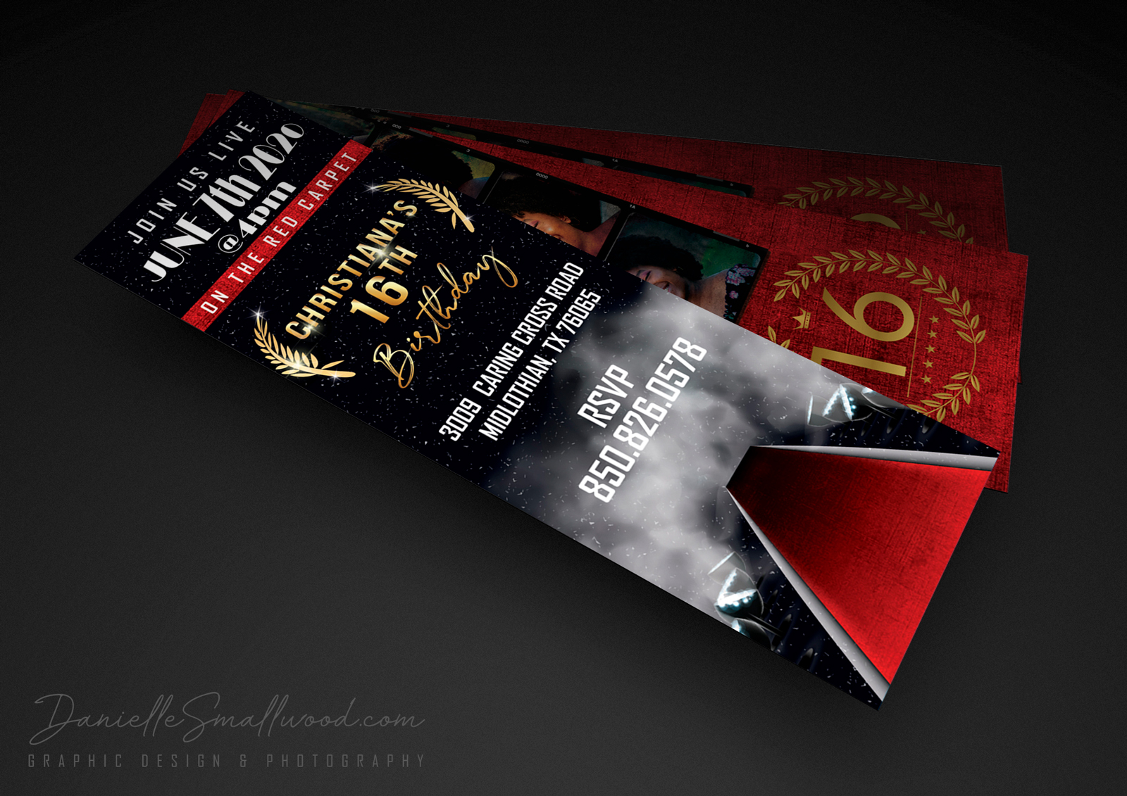 <span>Event, Graphic Design, Magazine, Outdoor Photography, Photography, Portrait, Wedding</span>Ticket Invitation Design
