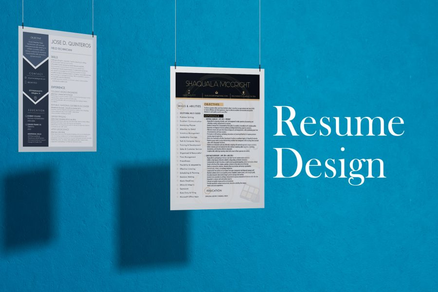 <span>Graphic Design, Resume</span>Resume Design & Layout
